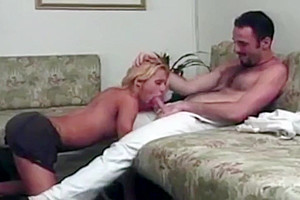 sizzling blonde transsexual